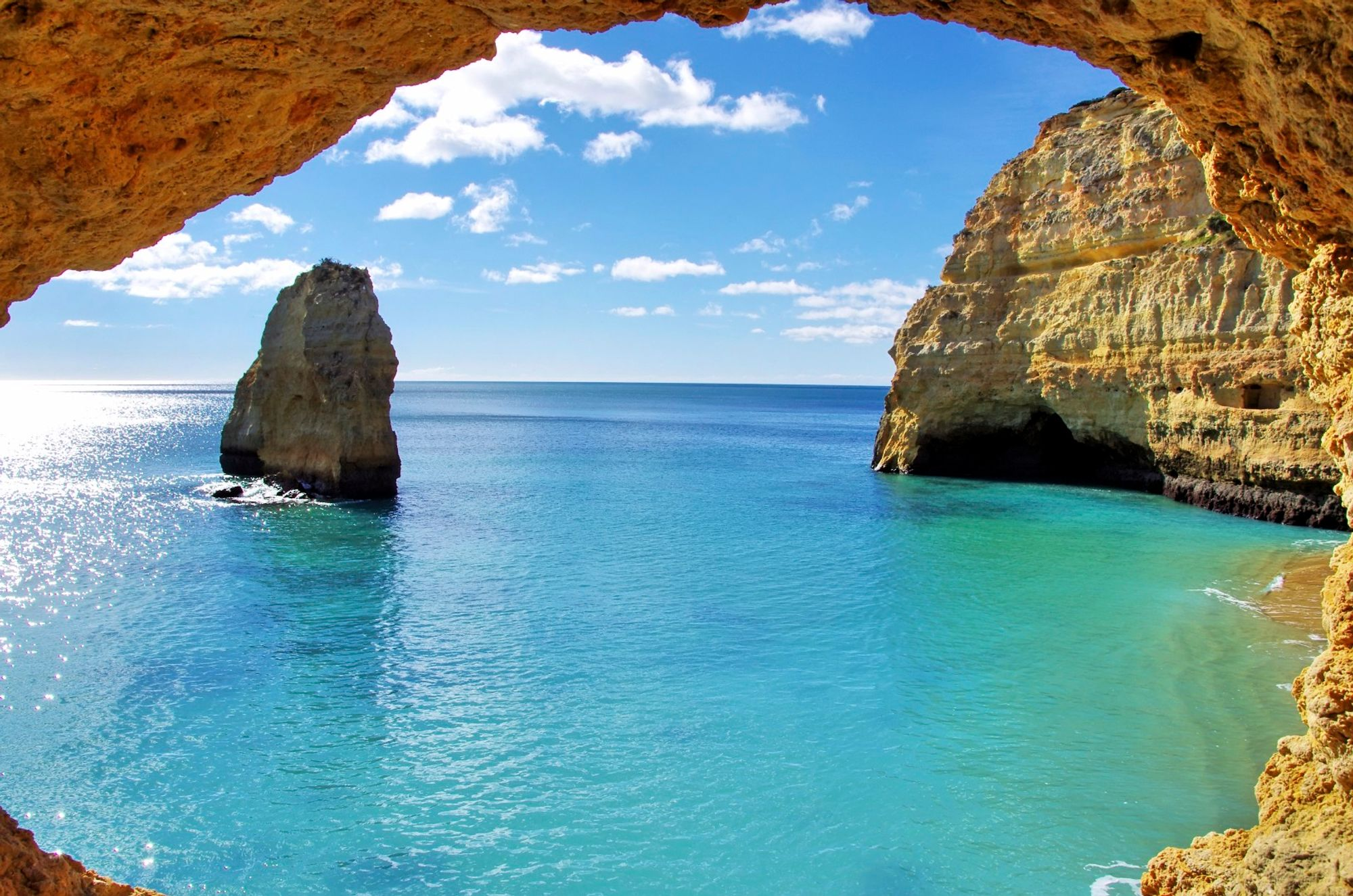 In the Algarve you'll find some of the best beaches in Portugal
