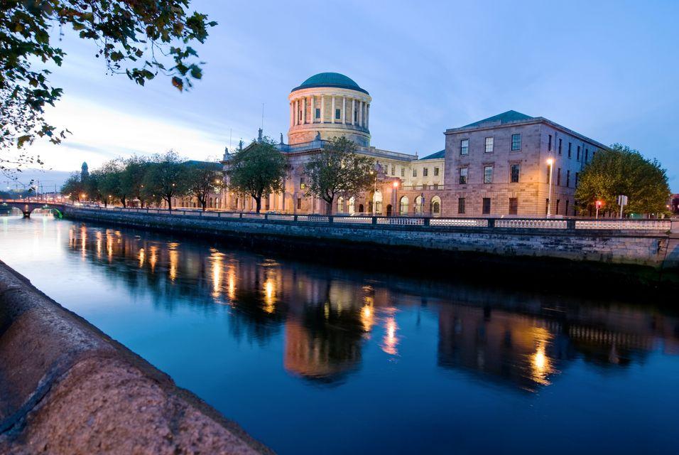 Sunset in Dublin - 6 cheap things to do in Dublin