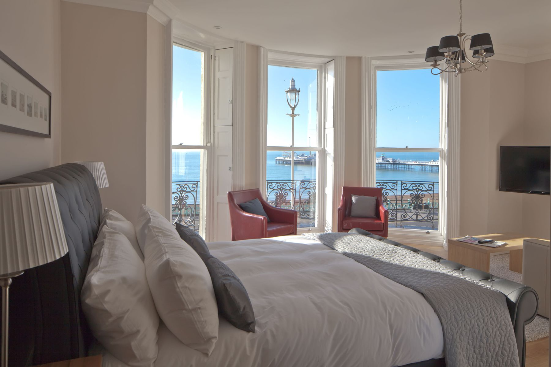 A Room with a View in Brighton is one of the UK's most unusual hotels for its top-notch location