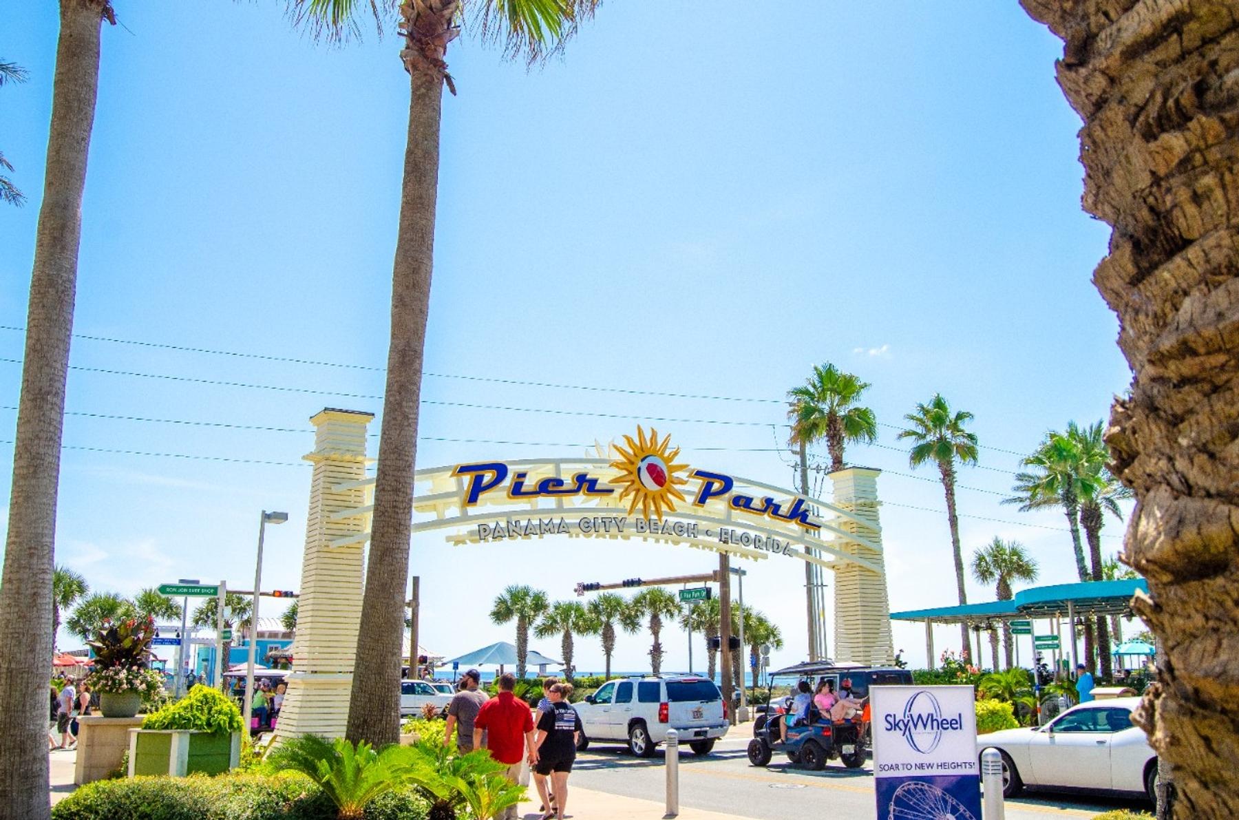 Pier Park Panama City Beach Entry