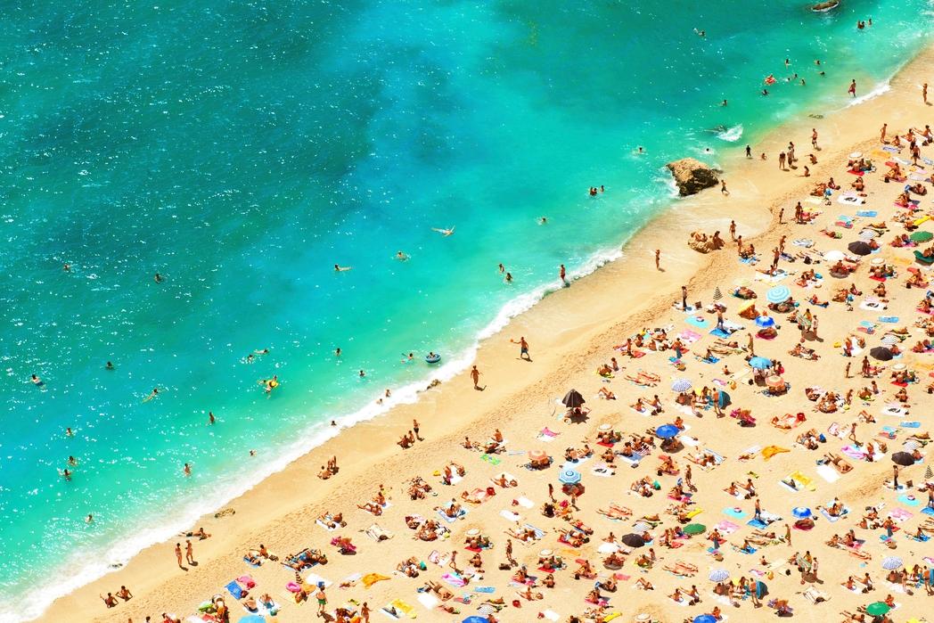 Παραλία στη Νίκαια - ταξίδι στη Γαλλική Ριβιέρα