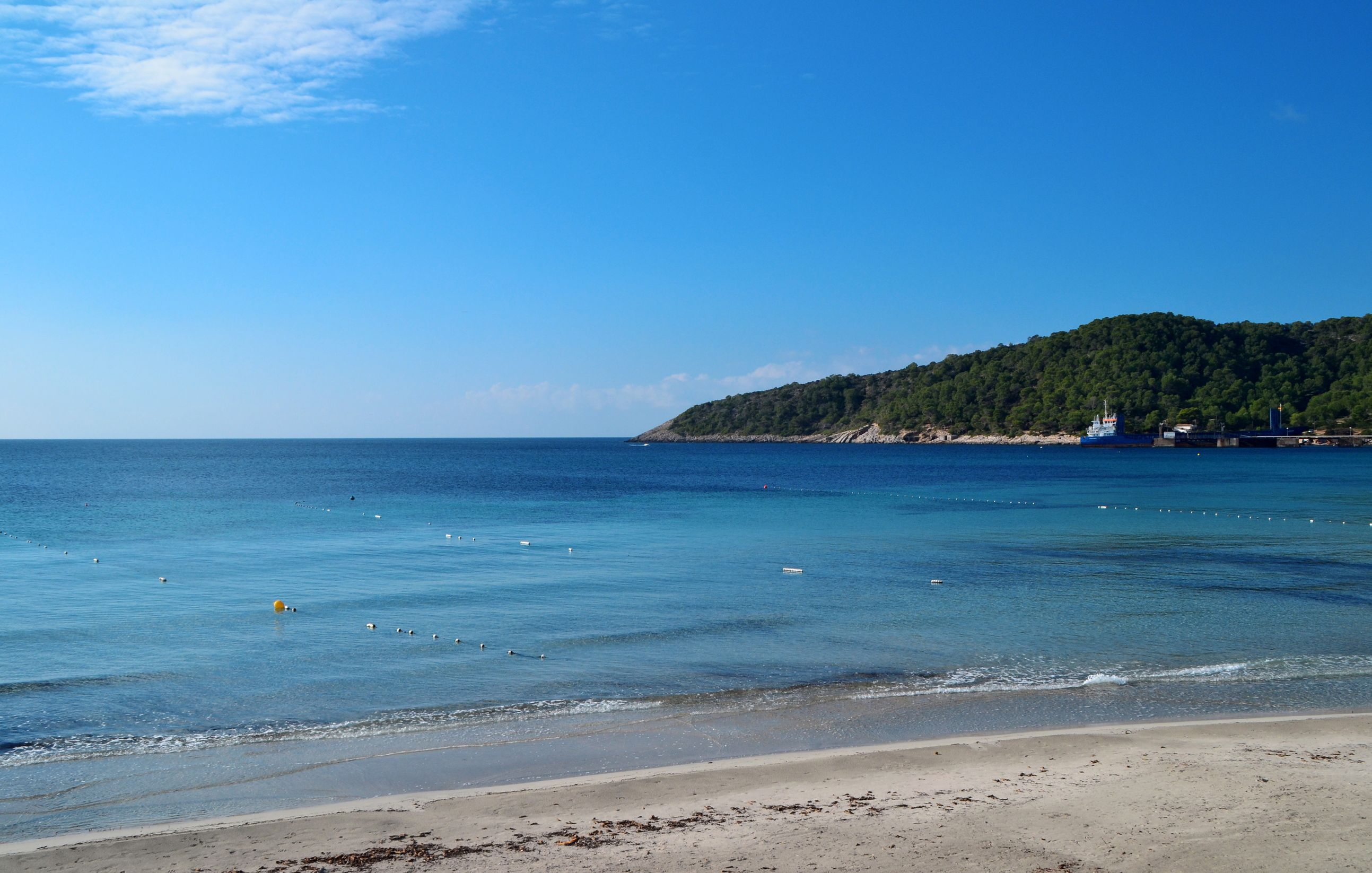 Las Salinas beach is one of the best in Ibiza and the Balearics