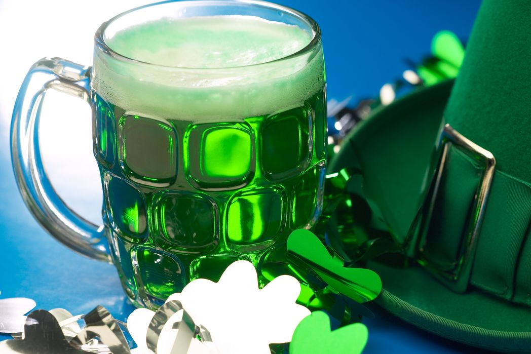Green beer for St. Patrick's DaySt. Patrick's Day parades around the world