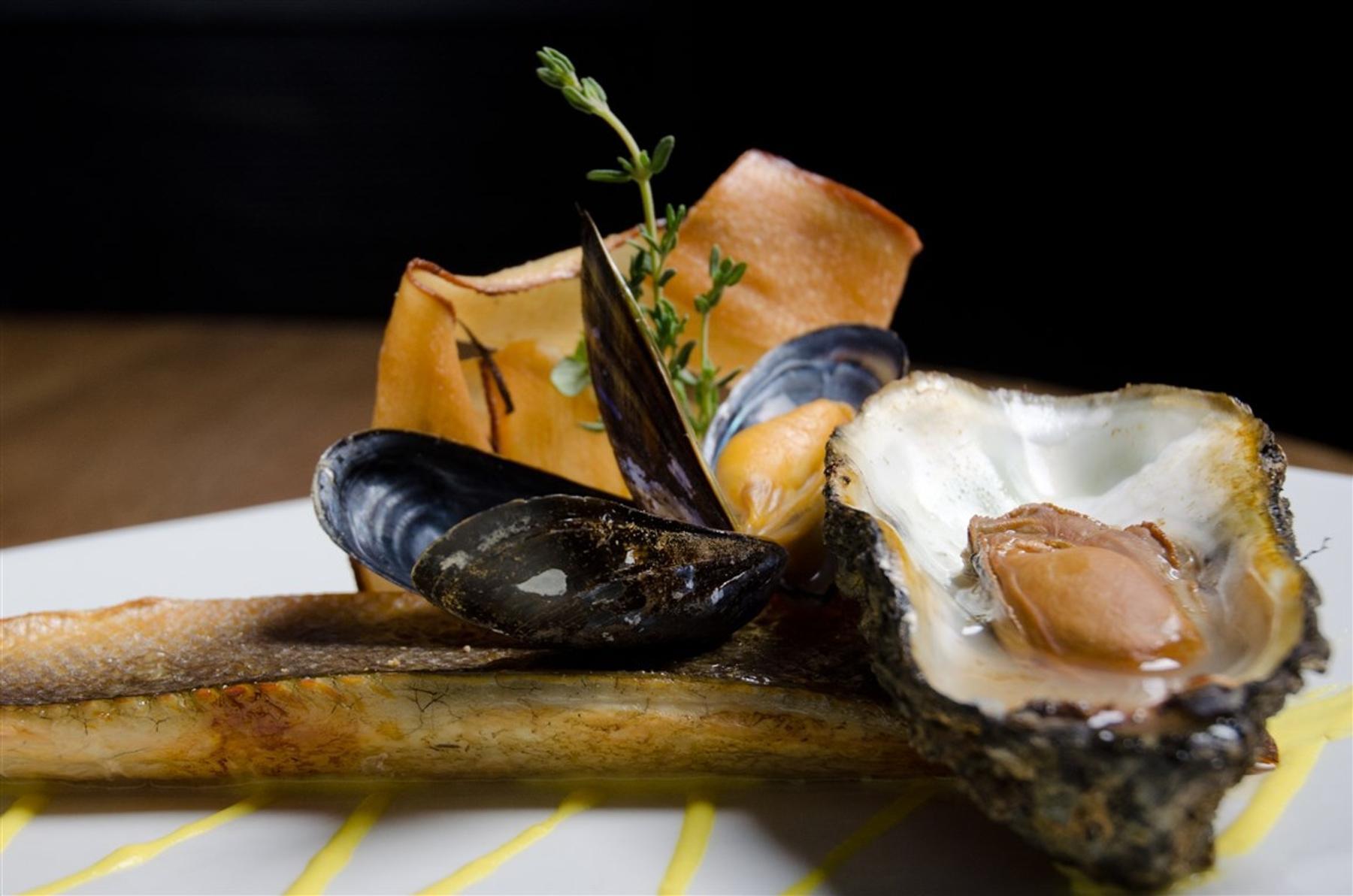 Gerecht met oesters Zeeland