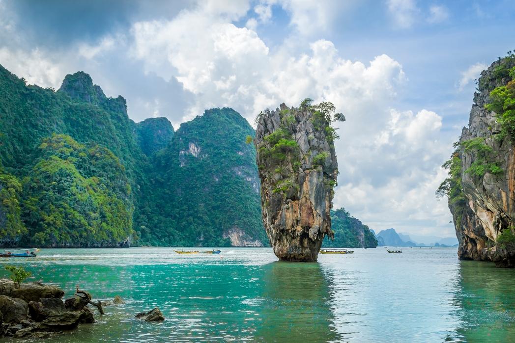 Phan Nga Körfezi, Phuket Tayland - uzak rota Kurban Bayramı tatili