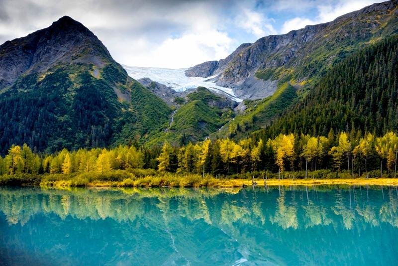 Anchorage, Alaska in summertime.
