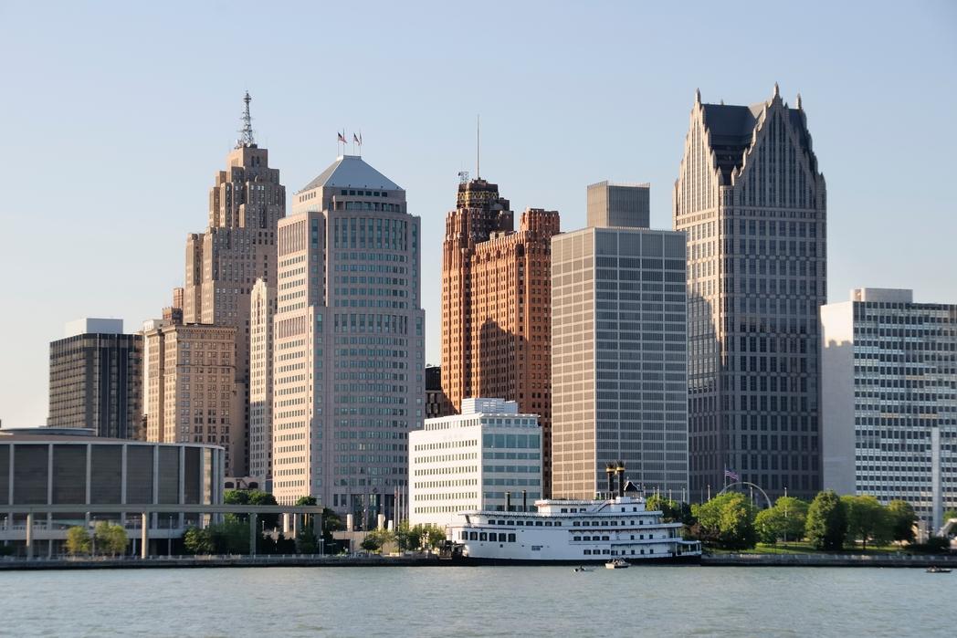 Detroit, EE. UU. En la carretera
