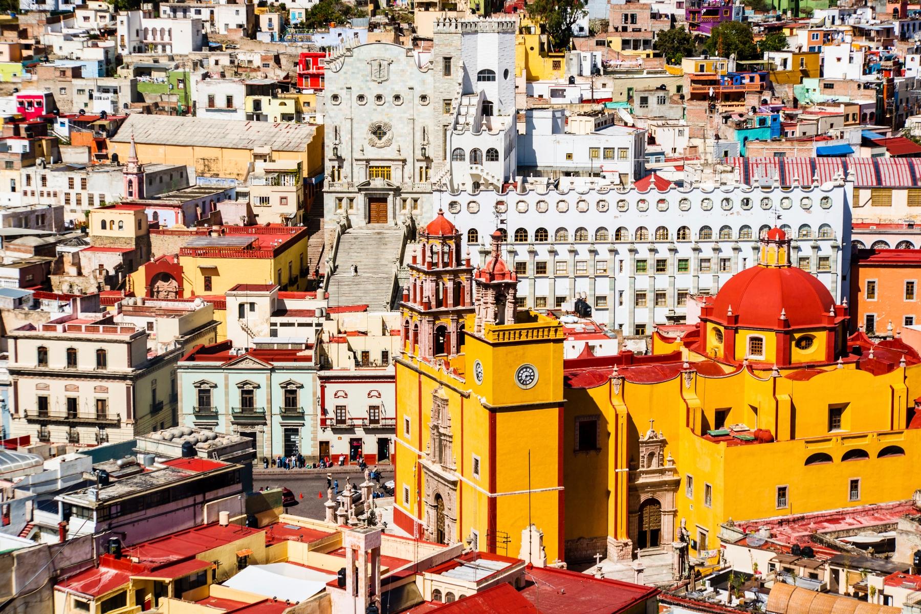 Guanajuato, uma das cidades históricas mais belas do México