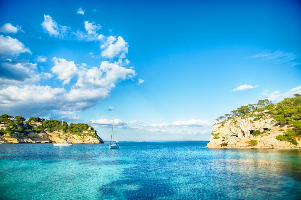 Boats in Majorca, Spain - one of the top destinations to visit in the Mediterranean