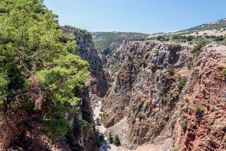 Die malerischsten Orte auf Kreta: Samaria-Schlucht und -Dorf, Region Chania
