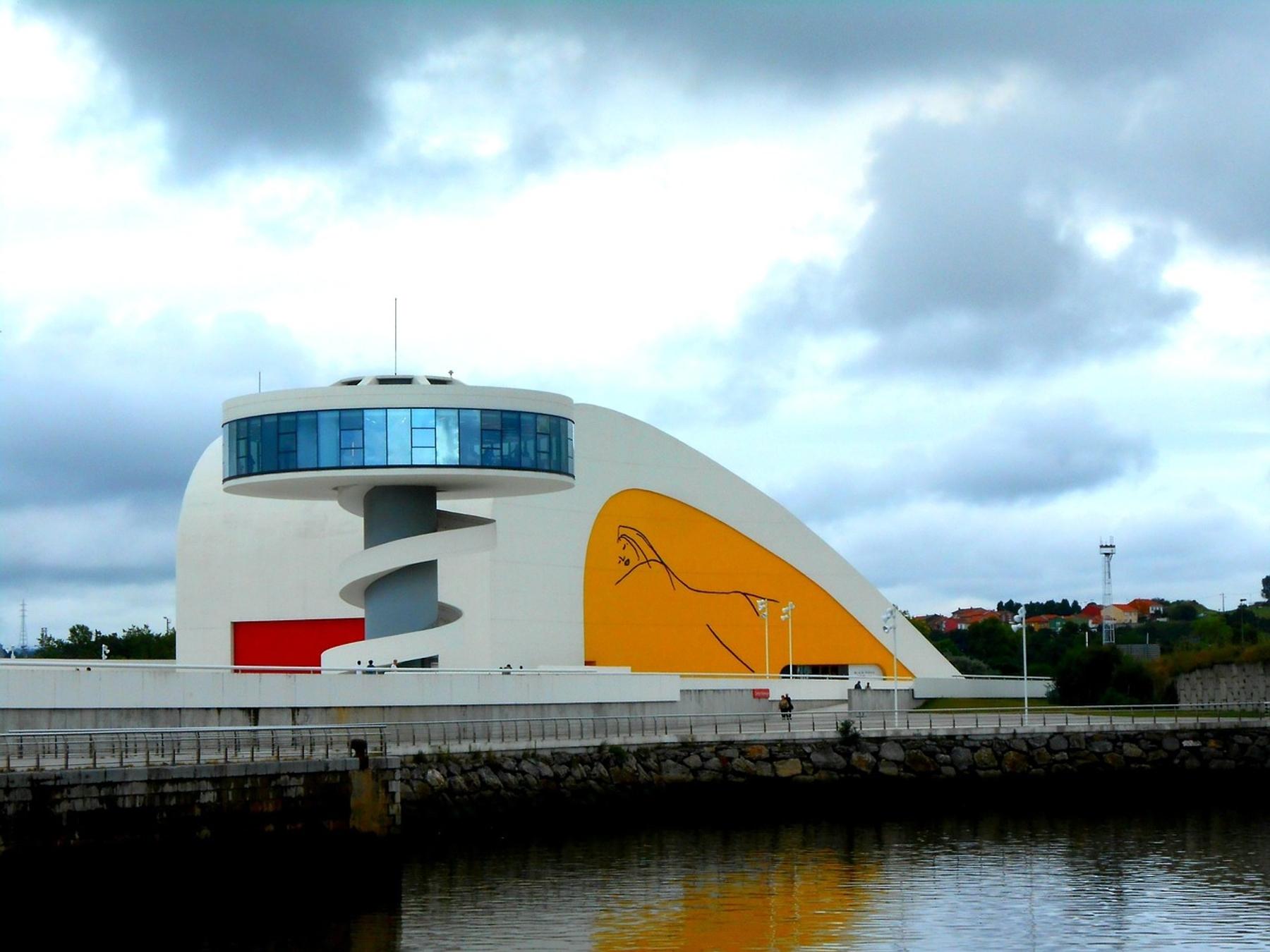 Centro Niemeyer Avilés Asturias