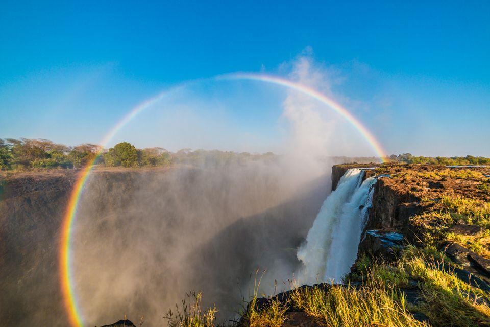 Удивительные феномены природы: круговая радуга