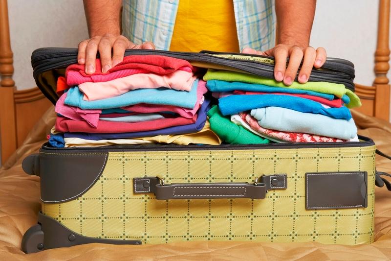 海外旅行 持ち物 荷づくり