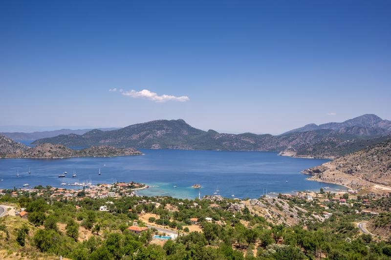 Turkey's Mediterranean coast: Marmaris