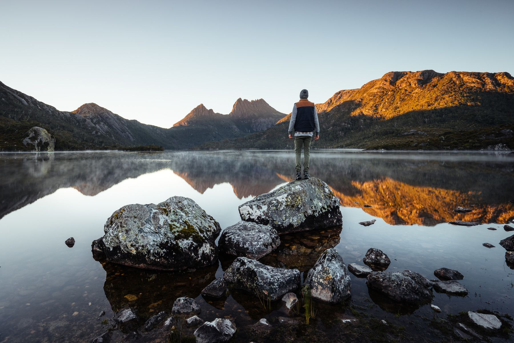Cradle Mountain, a part of the Tasmanian Wilderness World Heritage Area