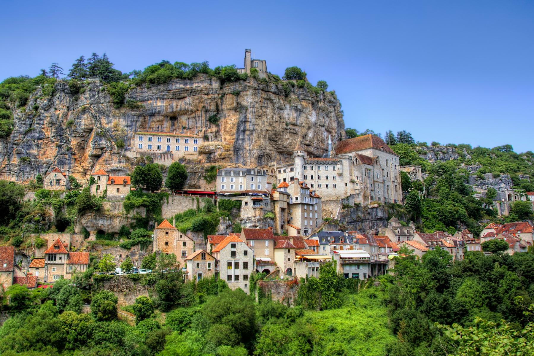 Le village médiéval de Rocamadour