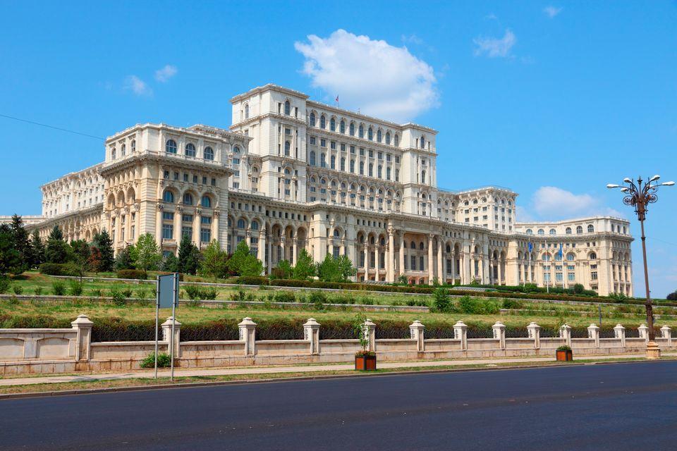 The Parliament Palace Bucharest