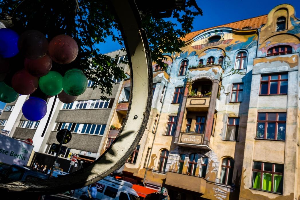 Διαμερίσματα στη γειτονιά Kreuzberg του Βερολίνου