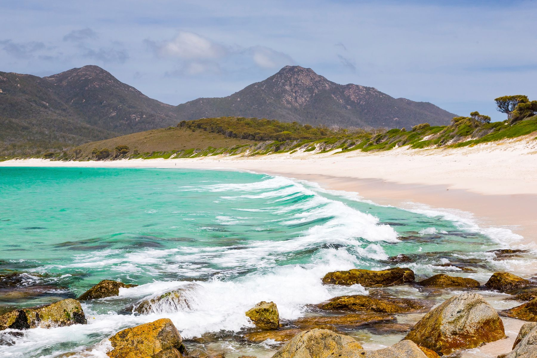 cheap holidays 2021 Freycinet national park beach near Hobart
