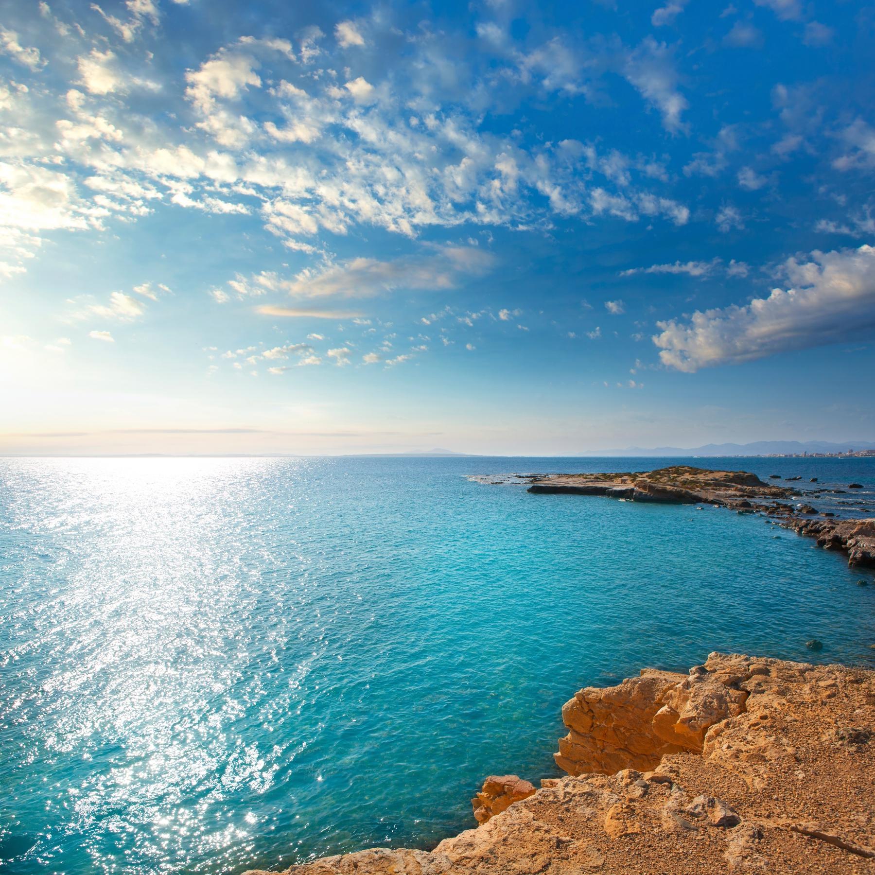 La isla de Tabarca es el paraíso en la tierra.