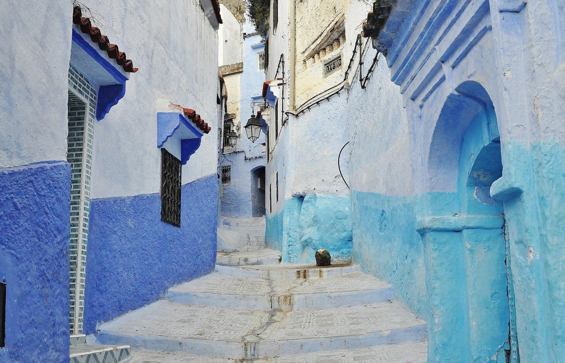 Синий город Шефшауэн (Шавен) в Марокко