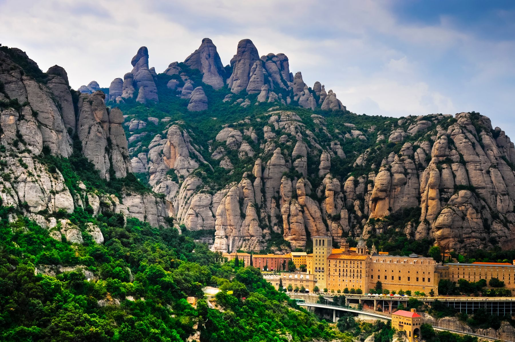 Los 20 rincones más bonitos de Cataluña: Montserrat