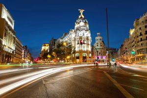 Η Γκραν Βία της Μαδρίτης τη νύχτα