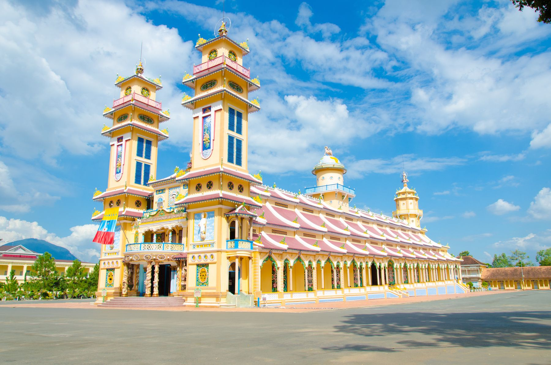 Temples in Ho Chi Minh City, Vietnam