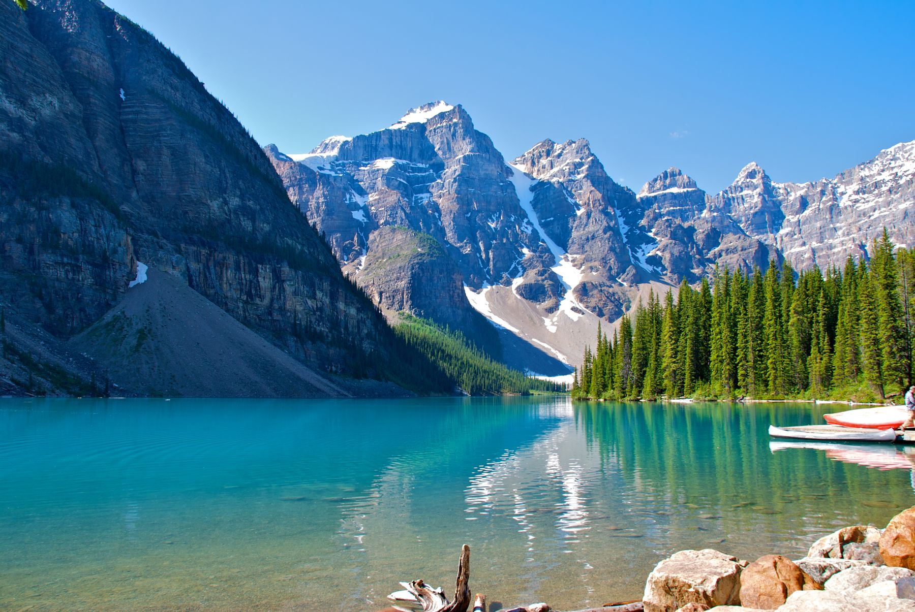 Jasper or Banff? If you're headed during the summer, consider Jasper for less crowds.