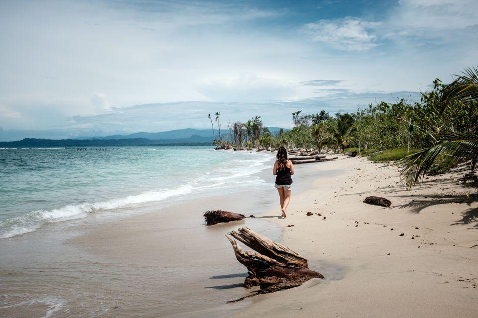 The tropical paradise of Cahuita, Costa Rica