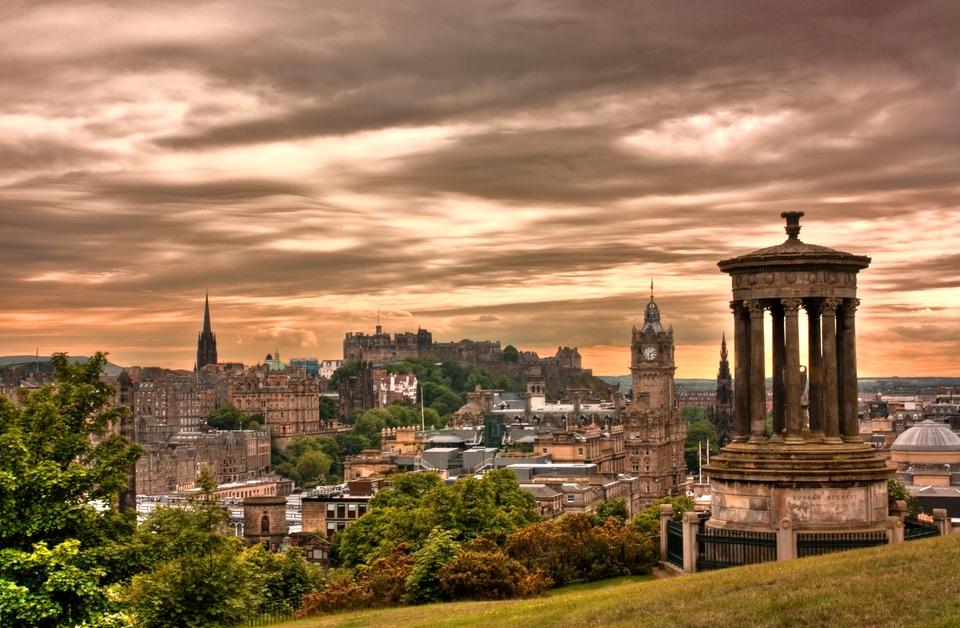 Edimburgo cosa vedere: Calton Hill