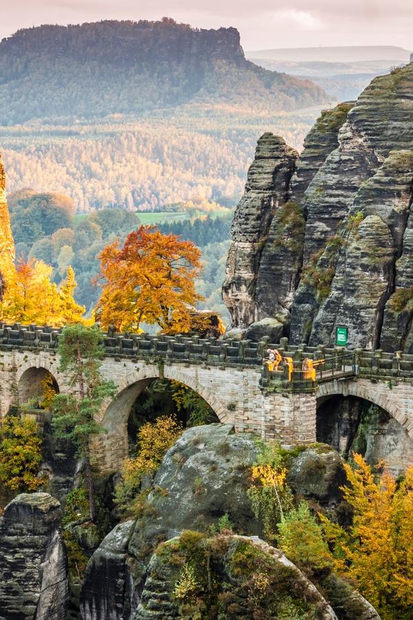 Unbekannte und abgelegene Reiseziele: Bastei und Basteibrücke, Sachsen