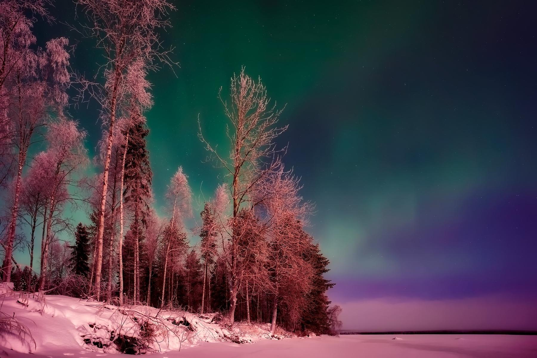 造訪極樂國度芬蘭賞極光