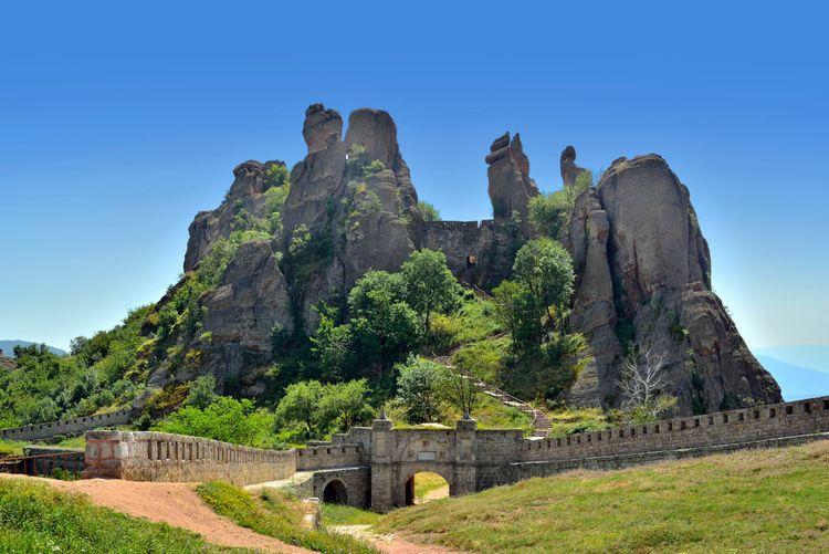 Белоградчикская крепость в Болгарии