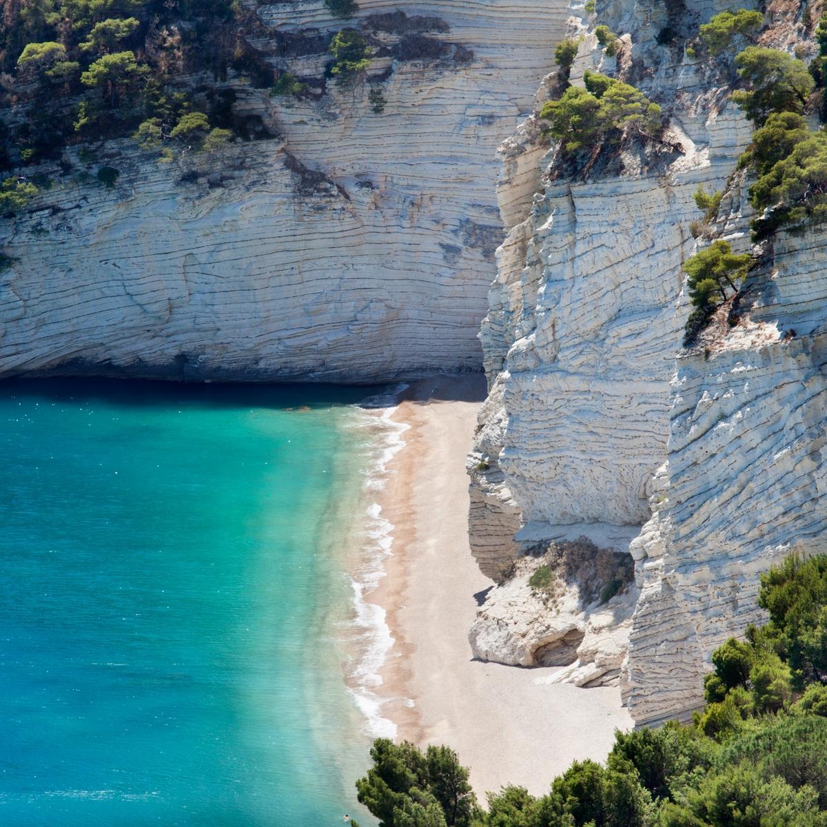 Spiagge del Gargano: Baia delle Zagare Gargano