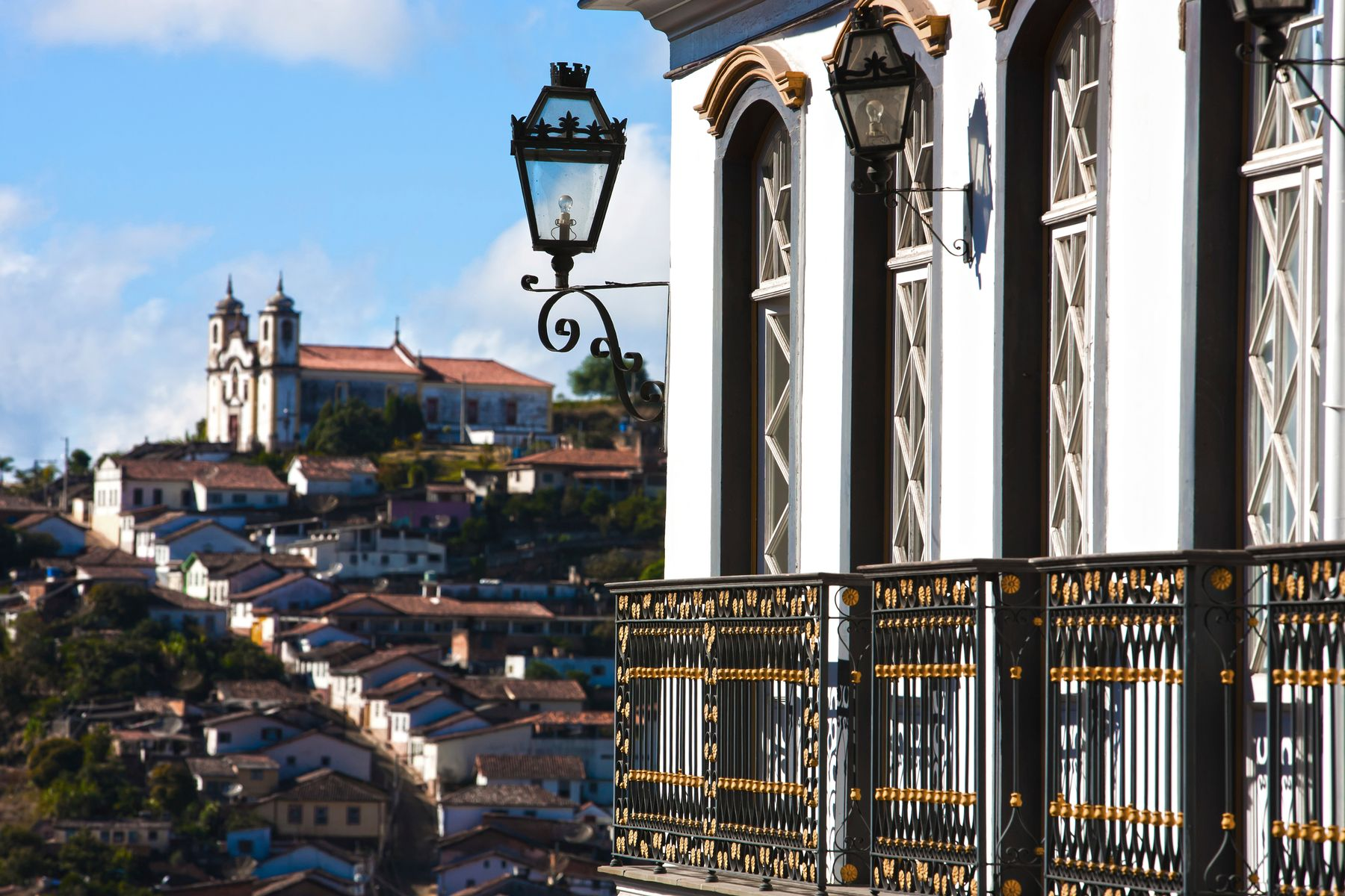 Casarios antigos em Ouro Preto