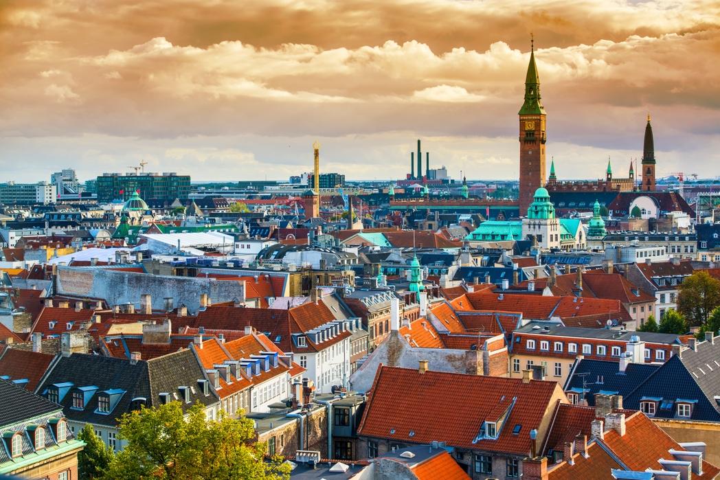 Θέα της Κοπεγχάγης από ψηλά