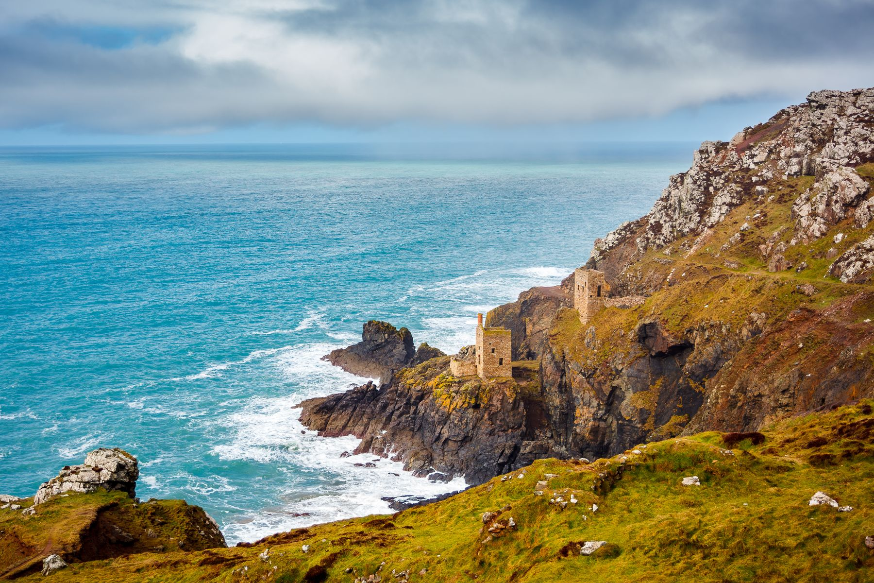 Botallack Mine is one of Cornwall's star attractions