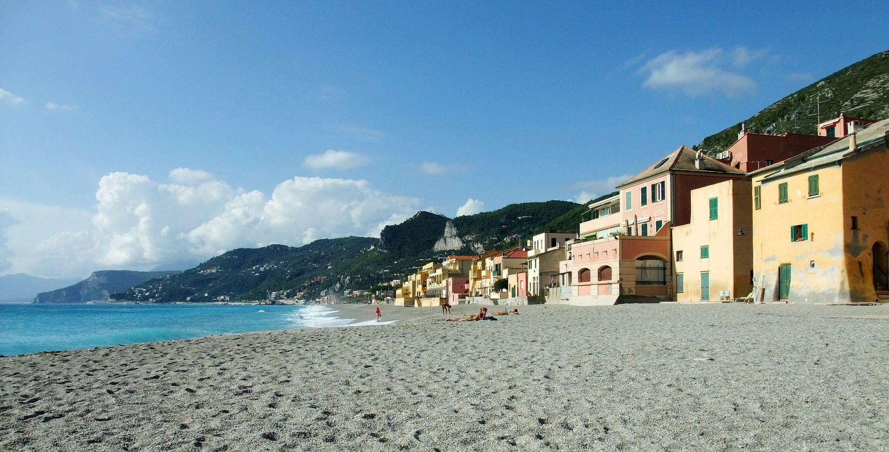 Spiaggia di Varigotti - Liguria