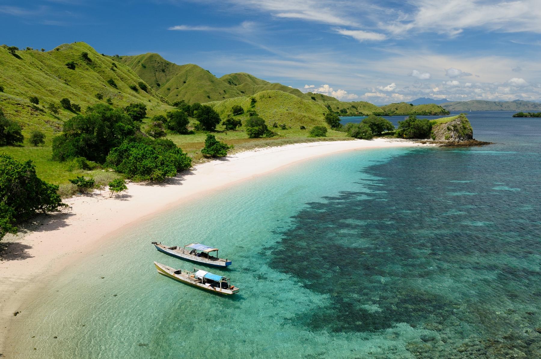 Остров Флорес в Индонезии