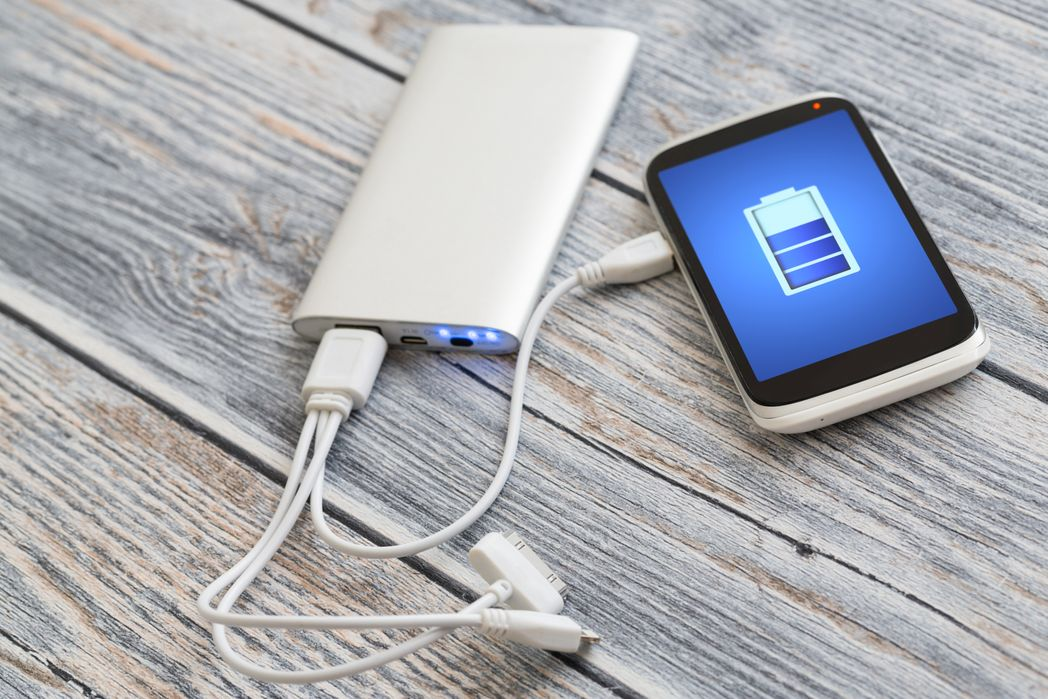 how to pack gadgets when travelling: don't forget your power bank