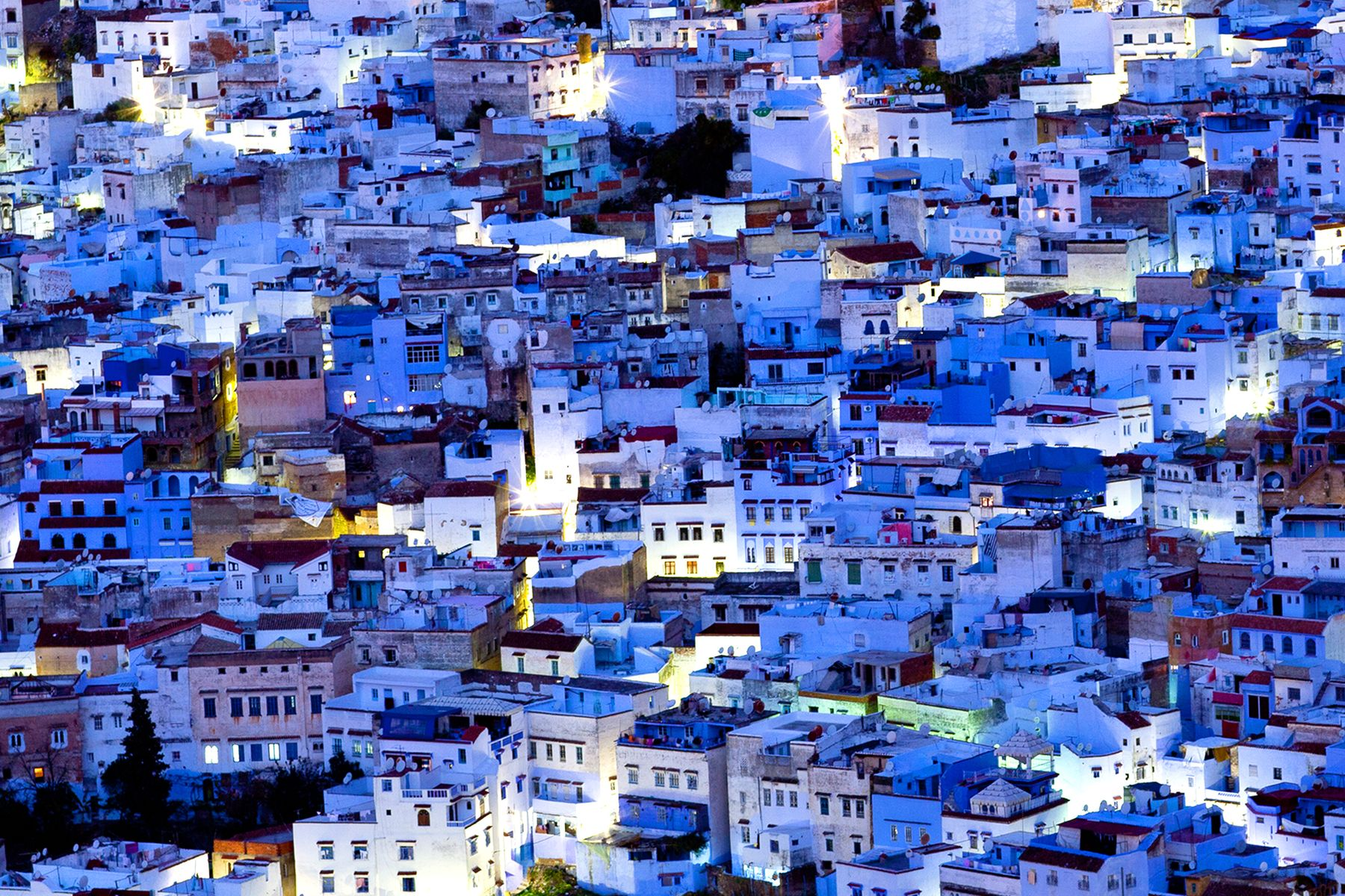 Самые яркие города мира: Шефшауен, Марокко