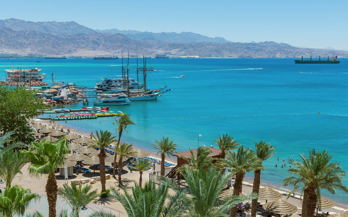 A short ride to Eilat from Ramon Airport