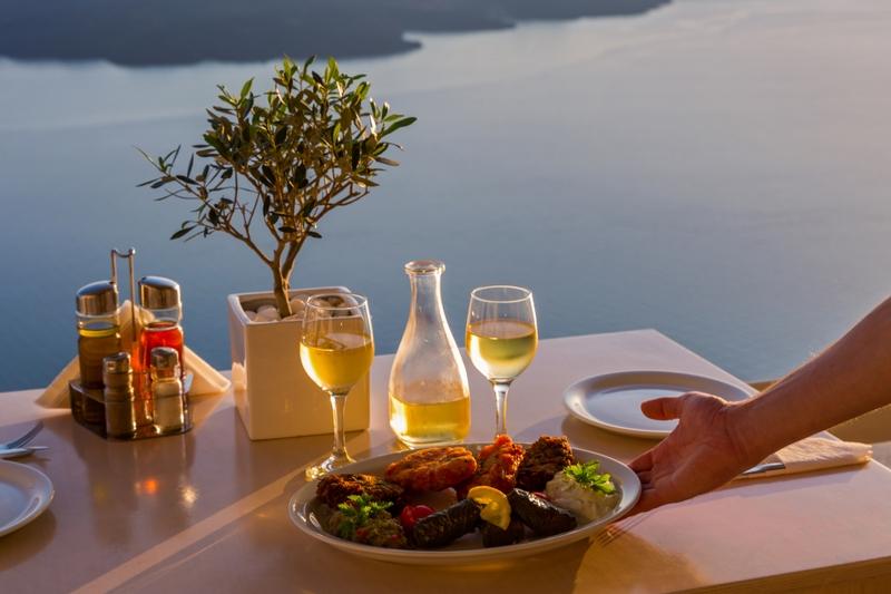 Testa grekisk mat