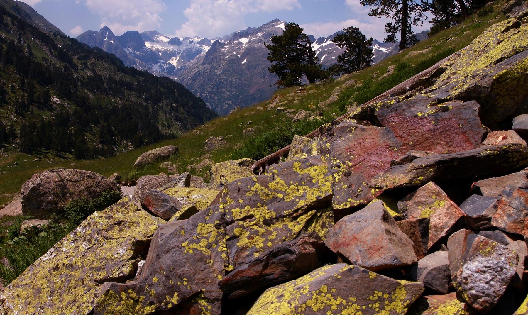 El Aneto, en Aragón, es uno de los picos más altos de España