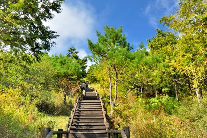 parque nacional de shei-pa en taiwán