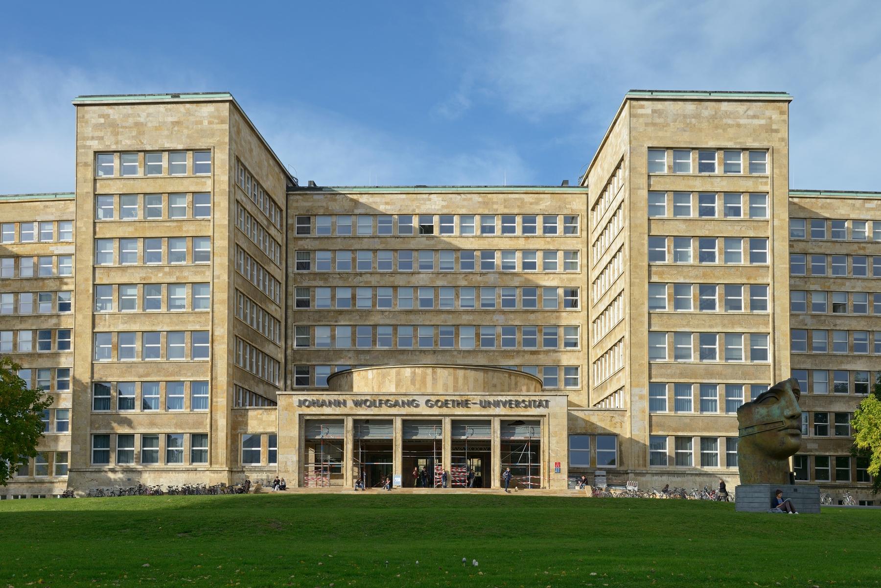 Campus Westend der Goethe-Universität Frankfurt am Main