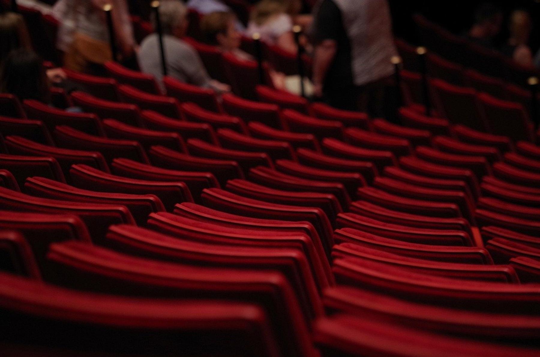 empty seats in a theatre