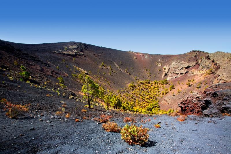 volcán en La Palma Canarias