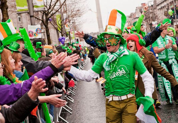 St. Patrick's Day Parade in Dublin - Best Places to Celebrate St. Patrick's Day in Ireland